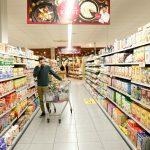 navigatielijst van supermarkt naar keuze